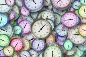 Pastel Clocks - time to study for your CMP exam.